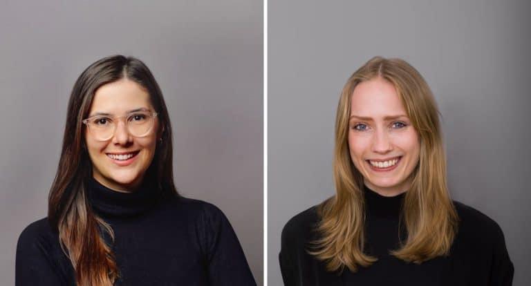 Photo Verstärkung im Doppelpack: Herzlich Willkommen Sophie & Rachel!
